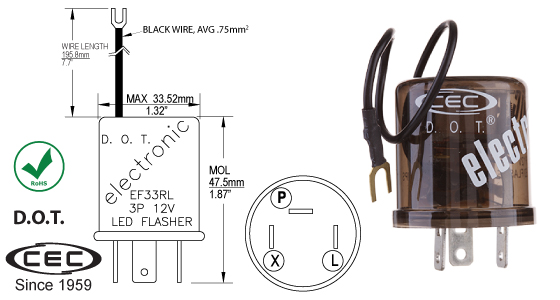 cec industries ltd your global partner in lighting solutions rh cecindustries com 2 Prong Flasher Wiring-Diagram Flasher Circuit Diagram