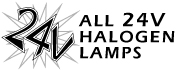 All 24 Volta Halogen Lamps